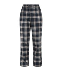 Hugo Boss Brushed Flannel Lounge Trousers Male Multi