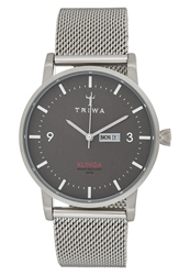 Triwa Dusk Klinga Watch Steel Mesh Grey