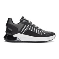 Balmain Grey B Trail Sneakers