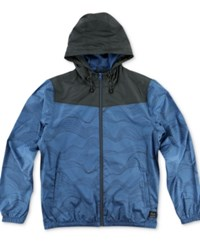 O'neill Men's Traveler Windbreaker Jacket Ocean