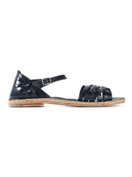 N.D.C. Made By Hand Scrappy Flat Sandals Blue