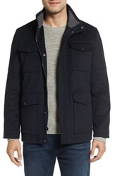 Hart Schaffner Marx Men's And Horatio Wool Blend Field Jacket