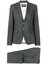 Dsquared2 London Skinny Suit Grey