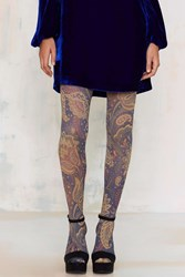 Nasty Gal Look From London Rory Paisley Tights