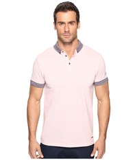Boss Orange Pilipe 10195056 01 Light Pastel Pink Men's Clothing Purple