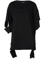 Haculla Embroidered Logo T Shirt Black