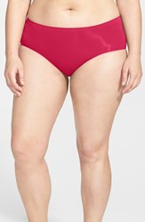 Plus Size Women's Nordstrom Seamless Hipster Briefs Red Barberry