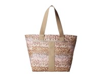 Le Sport Sac Everyday Tote Cheetah Cascade Tote Handbags Beige