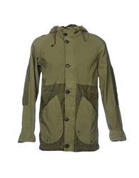 Vintage 55 Jackets Military Green