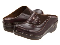 Spring Step Chino Brown Women's Clog Shoes