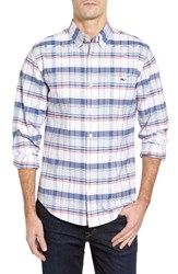 Vineyard Vines Men's Biras Creek Tucker Slim Fit Plaid Sport Shirt