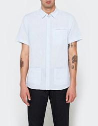 Native Youth Wembury Shirt Grey Blue