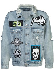 Haculla Mad Max Denim Jacket Blue