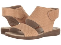 Naturalizer Fae Ginger Snap Leather Women's Sandals Pink