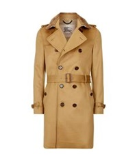 Burberry The Sandringham Long Cashmere Heritage Trench Coat Tan