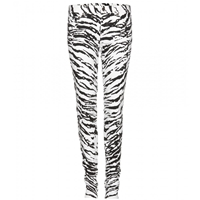 Saint Laurent Animal Print Skinny Jeans White X Black