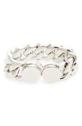 Tom Wood Women's Medium Chunky Silver Chain Link Bracelet