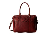 Pendleton Leather Commuter Tote Dark Brown Tote Handbags