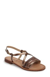 Geox Women's Geoz Sozy Slingback Sandal Old Rose Leather