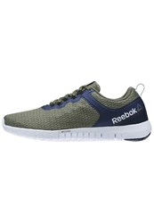 Reebok Zquick Lite Neutral Running Shoes Canopy Green Coll Navy White Oliv