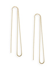 Nancy B 14K Yellow Gold Teardrop Earrings