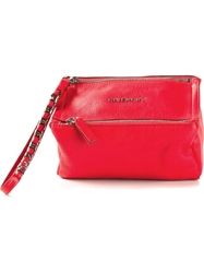 Givenchy Small 'Pandora' Clutch Red
