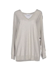 Crumpet Sweaters Light Grey
