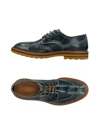 Barracuda Lace Up Shoes Green