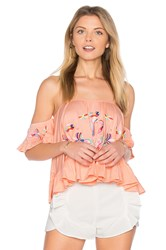 Vava By Joy Han Anthea Top Pink