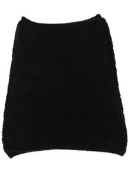 Isabel Benenato Knitted Snood Scarf 60