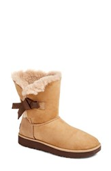 Uggr Women's Ugg Classic Knot Short Boot Natural Suede