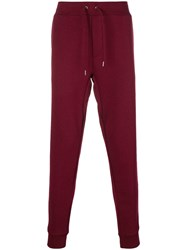 Polo Ralph Lauren Logo Drawstring Track Trousers Red