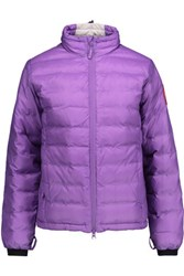 Canada Goose Camp Quilted Shell Down Coat Lavender