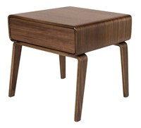 Modernica Alpine Case Study Bed Side Table Brown