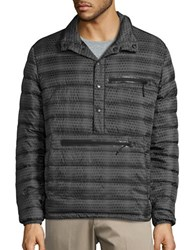 Hawke And Co Pullover Down Puffer Jacket Reptile