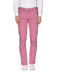 Jaggy Trousers Casual Trousers Men Light Purple