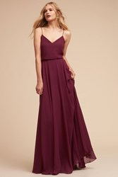 Anthropologie Inesse Wedding Guest Dress Red