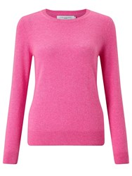 John Lewis Cashmere Crew Neck Jumper Strawberry