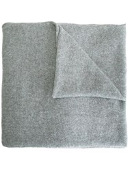 Liska Knitted Scarf Grey