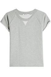 Alexander Wang T By Short Sleeve Sweatshirt