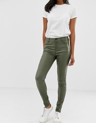 Vila Coated Jeans Green