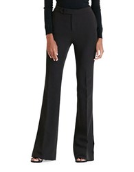 Lauren Ralph Lauren Crepe Flared Pants Black
