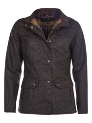 Barbour Utility Waxed Jacket Olive