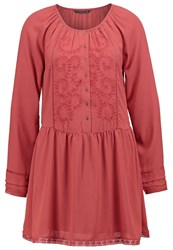 Only Onlnena Summer Dress Marsala Red