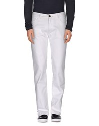 North Sails Denim Denim Trousers Men White