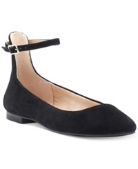 Inc International Concepts Fayena Flats Created For Macy's Women's Shoes Black Suede