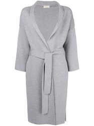 Ma'ry'ya Long Cardigan Grey