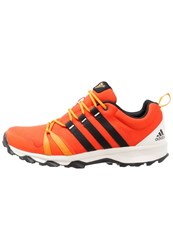 Adidas Performance Trail Rocker Trail Running Shoes Energy Core Black Bright Orange Red