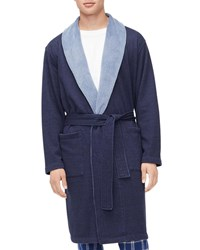 Ugg Robinson Two Tone Robe Navy
