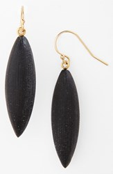 Women's Alexis Bittar 'Lucite Neo Bohemian' Small Sliver Earrings Black